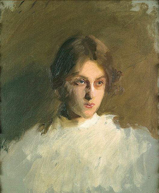 An unfinished John Singer Sargent