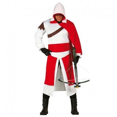 Disfraces medievales hombre   Disfraz de mercenario templario. Conviertete en el protagonista de Assassins Creed con este espectacular modelo. Contiene traje con capucha, capa y cinturon.  19,95€  #mercenario #templario #assassins #creed #assassinscreed #disfraz #medieval #disfraces #medievales