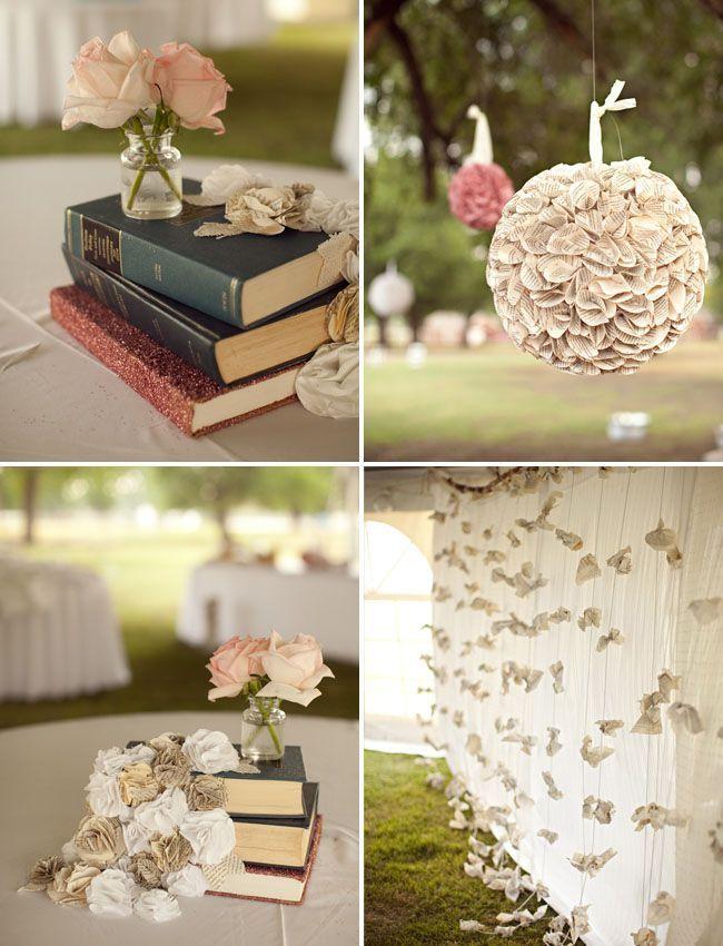 Oklahoma DIY Wedding For Book Lovers: Rebecca + Lucas