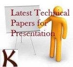 Latest Technical Paper Presentation Topics