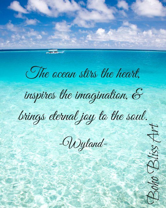 Wyland Quote: The ocean stirs the heart, inspires the ...