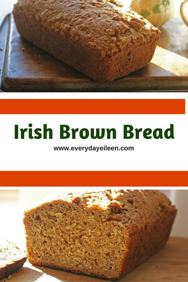 Irish Brown Bread! My blue ribbon recipe is healthy and easy to prepare! low-fat and easy to prepare!