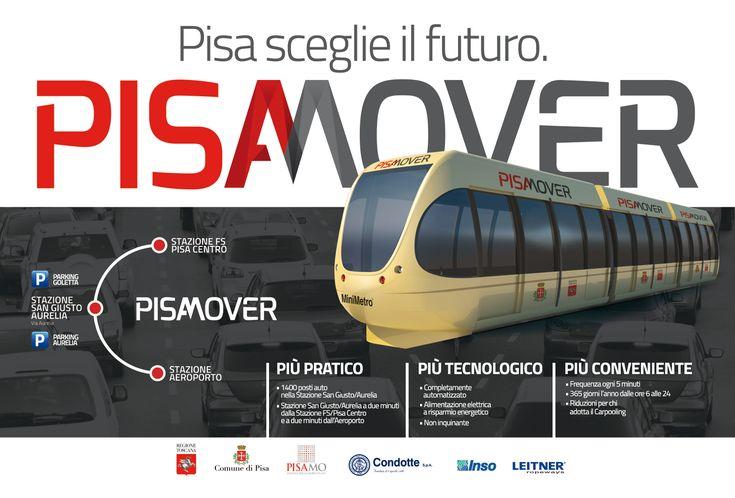 Campagna pubblicitaria per #Pisamover //  Advertising campaign for #Pisamover
