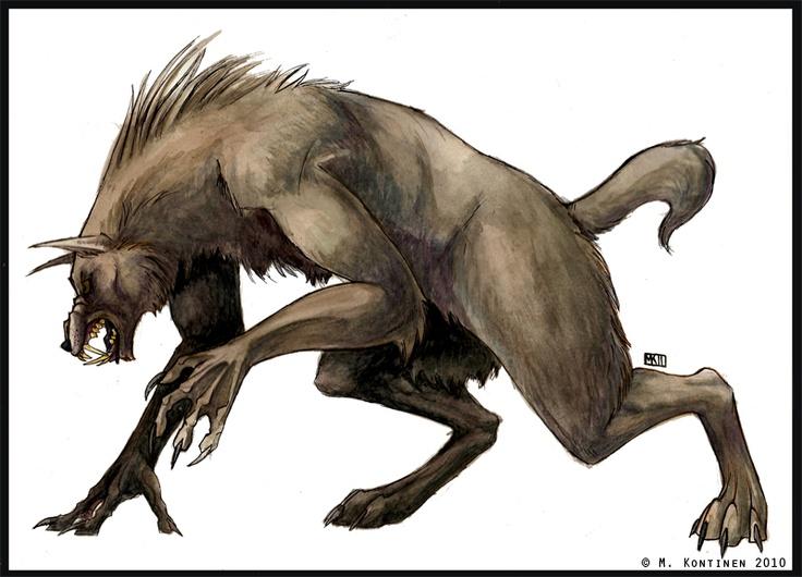 Generic werewolf no. 36840 by ~The-Vol on deviantART