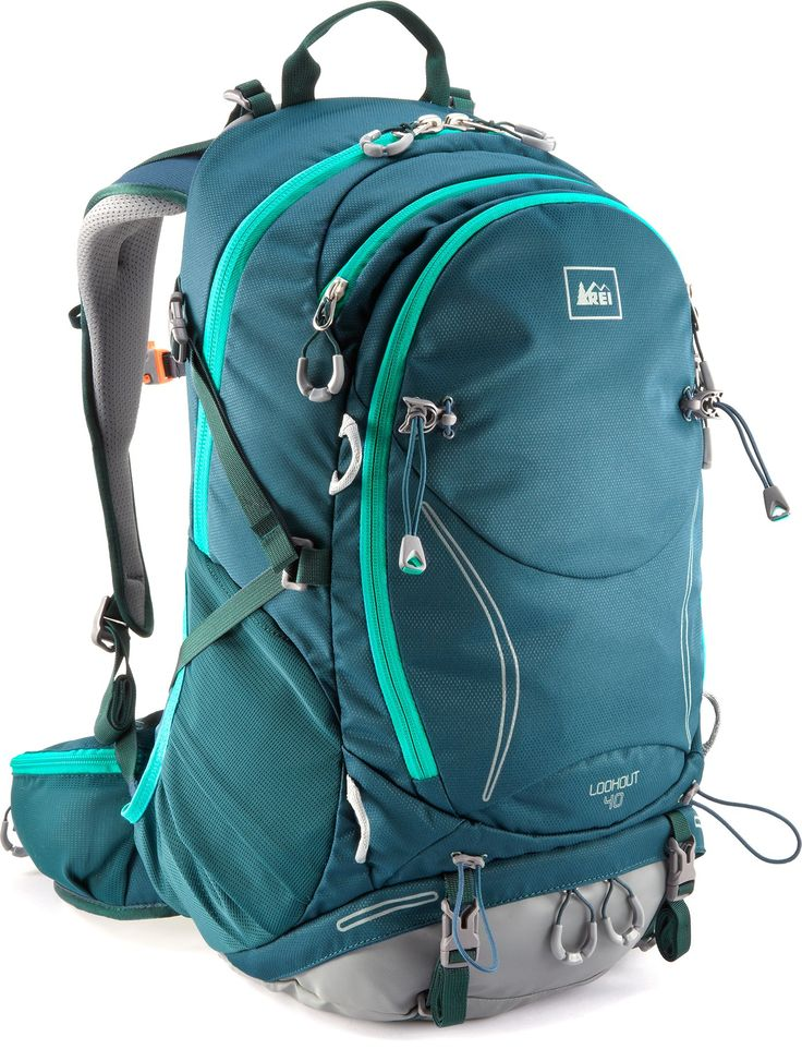 REI Lookout 40 Pack, your campus escape pack for trips home and cool forest hikes. #REIcampusguide