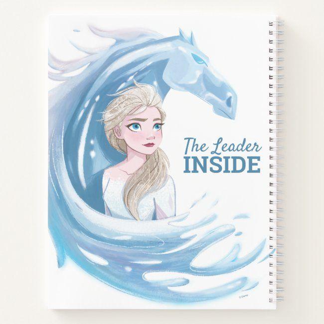 Frozen 2 Elsa The Nokk Portrait Notebook Zazzle Com In 2021 Canvas Prints Frozen Canvas
