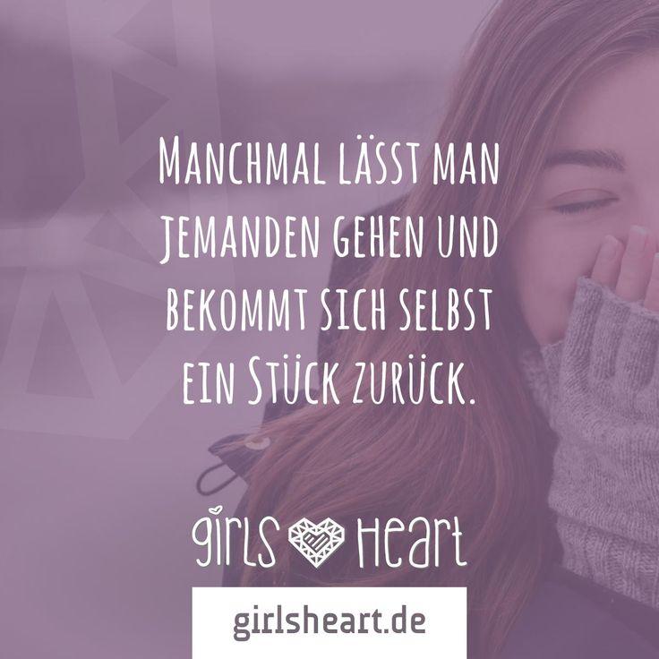 Mehr Sprüche auf: www.girlsheart.de  #abschied #beziehungsende #verlassen #ende #gehenlassen #liebe