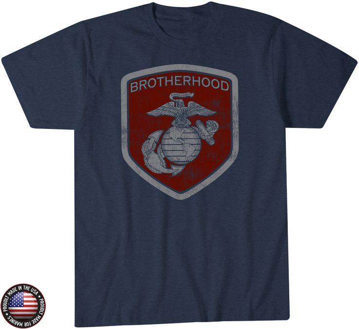 The USMC Brotherhood T-Shirt - Leatherneckforlife USMC Gear