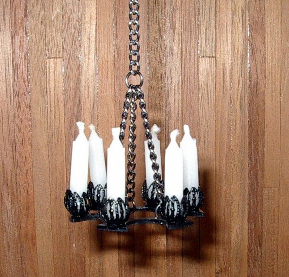how to make a dollhouse chandelier