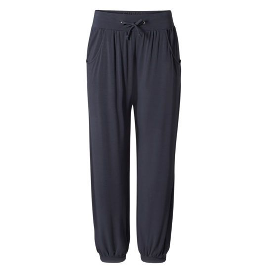 curare long pants relaxed blau