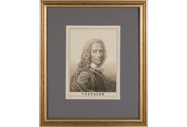 Portrait of Voltaire