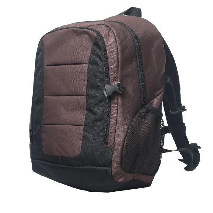 Tas sekolah ransel - kode produk : WILLOOKS 125 HITAM COKLAT , harga murah produk Bandung