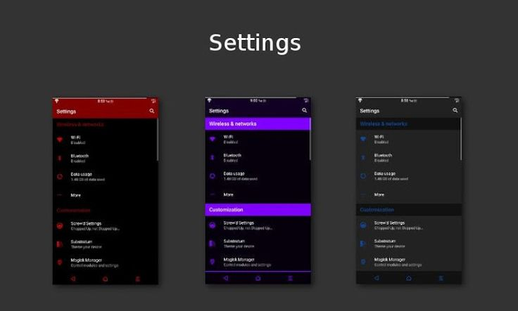 [Substratum] Dark Infusion v8.4 [Patched]   [Substratum] Dark Infusion v8.4 [Patched]Requirements:6.0 & up  Substratum Theme Engine  RootOverview:This Substratum theme is for Aosp 6.x/7.x Custom roms with OMS. !!NOT FOR ANDROID 5.x!!  !!!No Legacy Support!!! Use at your own risk on stock roms! Telegram group for help and questions -http://ift.tt/2jD2Sln  Build your own dark look with 12 Accent colors tons of Primary Background and card color choices.  Themed:  - SystemUI  - Framework  - Aosp…