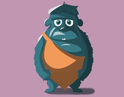 """Check out this @Behance project: """"A little monster"""" https://www.behance.net/gallery/26786661/A-little-monster"""