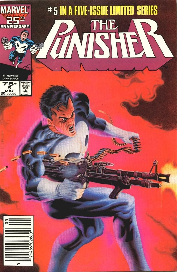 """Circle of Blood"" The Punisher #1-5"