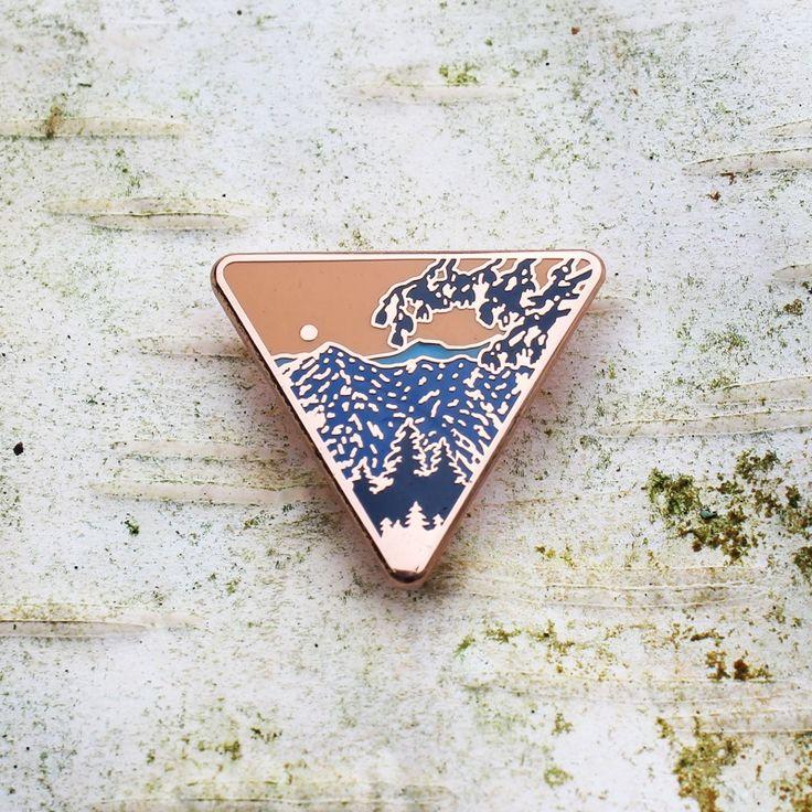 Image of Wanderer Pin - $6.00  http://ashcostudio.bigcartel.com/product/wanderer-pin-pre-order