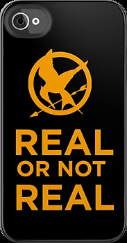 """""""The Hunger Games - Real or not real."""" iPhone & iPod Cases by mioneste 