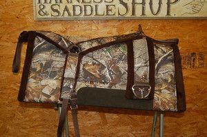 Camo saddle pad, breast collar, and girth! Awww man. :D
