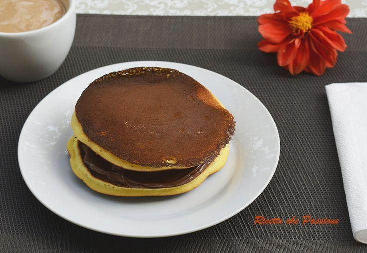 Dorayaki con Nutella