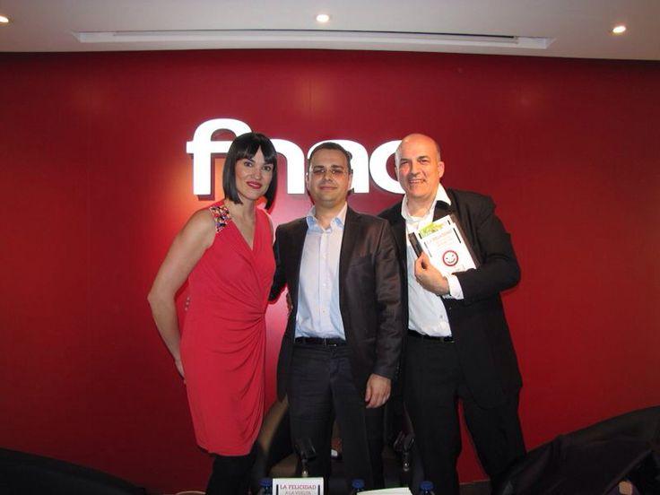 Presentación en Madrid junto a Irene Villa y Jordi Nadal
