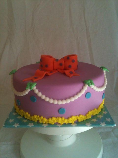 Paarse verjaardagstaart | Simsalataart Tegelen