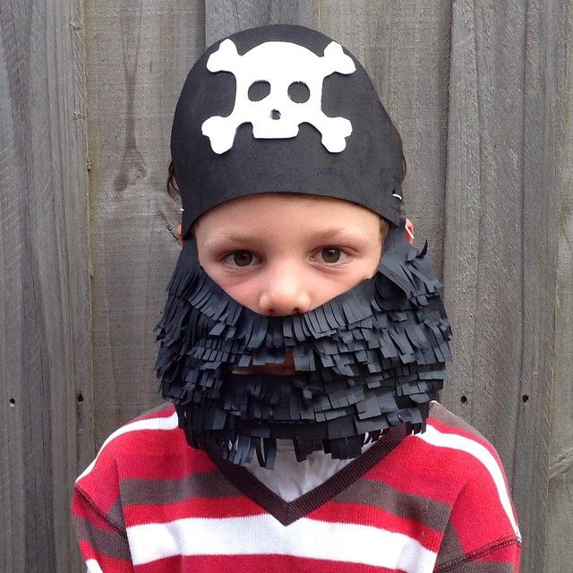 Pirate shenanigans #kidsactivities #papercraft #costume