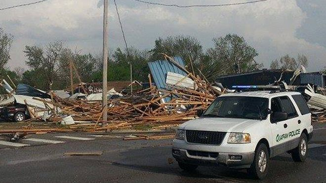 deadly tornados in Alabama and Oklahoma April 2014