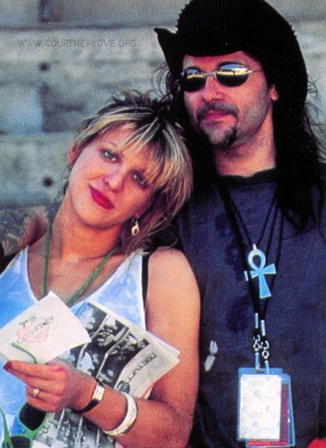 Al Jourgensen (Ministry) and Courtney Love never met her