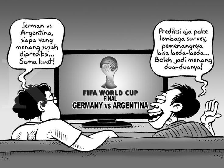 Kartun Benny, Kontan: Final Piala Dunia 2014