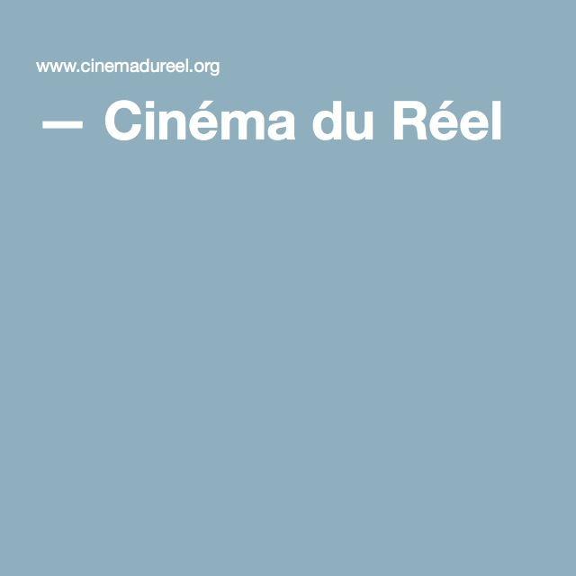 — Cinéma du Réel