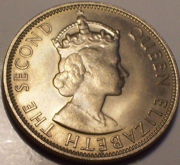 BRITISH HONDURAS 1954  50 CENTS