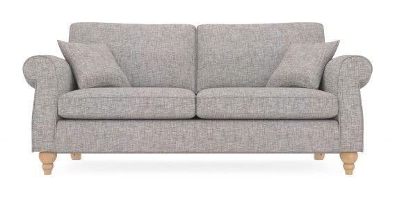 Buy Ashford Large Sofa (3 Seats) Boucle Blend Light Dove LowTurned-Light from the Next UK online shop