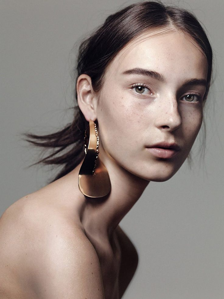 'The Face' (The New York Times T Style June 2015), Julia Bergshoeff shot by Craig McDean and styled by Joe McKenna.