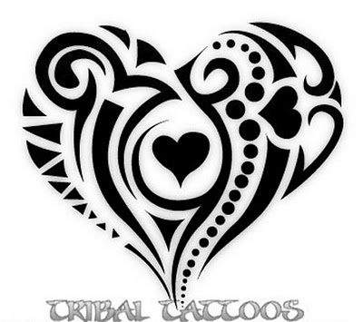 tribal tattoo - possible board art