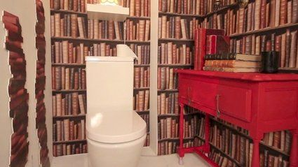 17 best images about le petit coin wc on pinterest. Black Bedroom Furniture Sets. Home Design Ideas