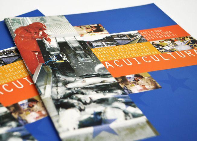 Revista de investigación Acuicultura. Cliente: Fundación EUROCHILE. 2010