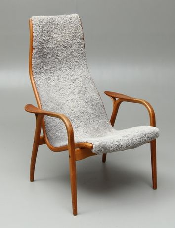 Lamino, designed by Yngve Ekström and produced by Swedese. Probably the most comfortable armchair ever made. So functional, yet so beautiful and lightweight. Perfection in design.  Yngve Ekström, Lamino chair, 1952.