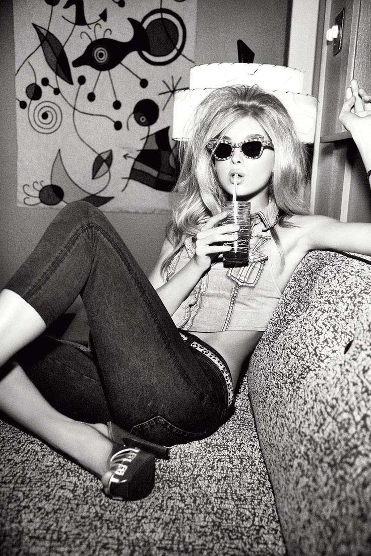 Guess Fall 2010 Campaign | Alyssa Miller & Elsa Hosk by Ellen von Unwerth #fashion #photography