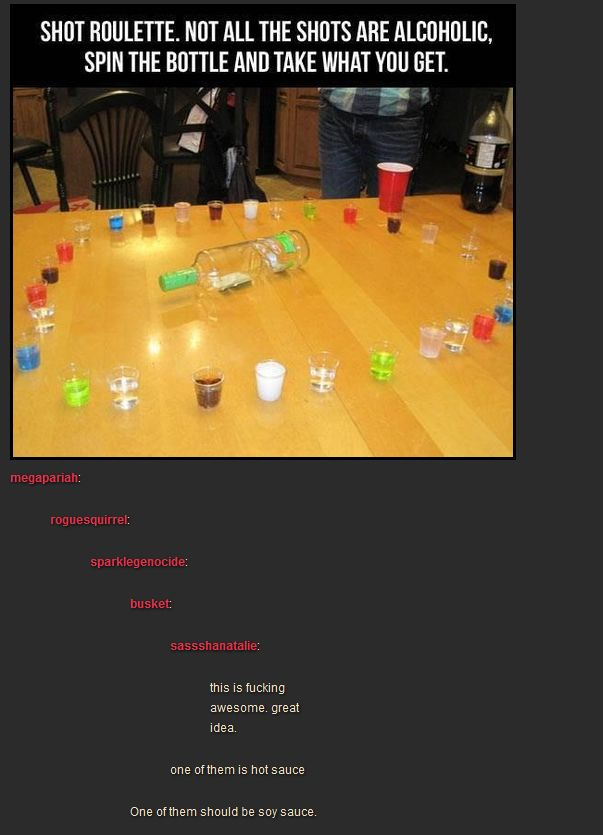Shot Roulette - spin the bottle with shots instead of kisses