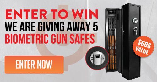 Biometric Gun Safe Giveaway - $606 Value {US} {10/21/16} via... IFTTT reddit giveaways freebies contests