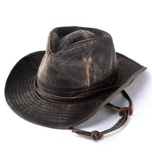 帽子 ハット カウボーイ テンガロン ウェスタン/メンズ 秋冬/ステットソン ダメージ加工/ブラウン(XL(60cm))