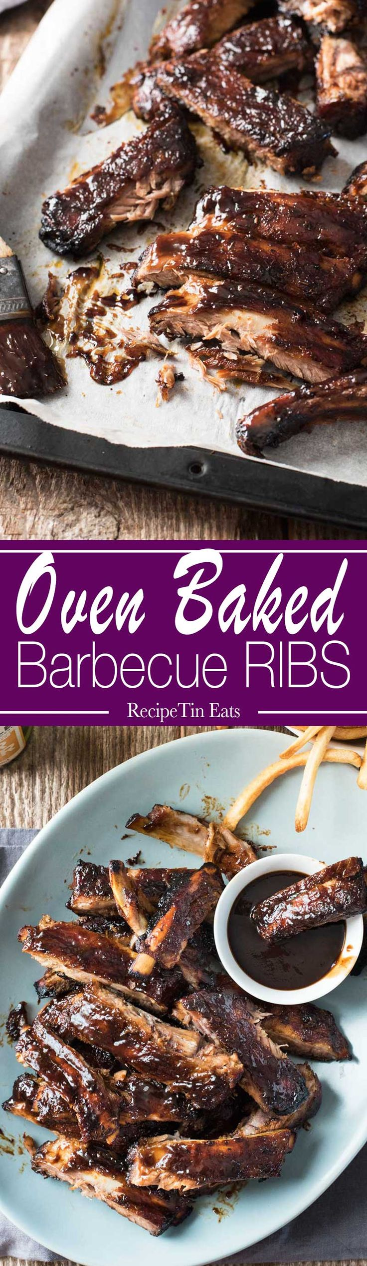 """In the words of my (gourmet) friend: """"These ribs are spectacular. Best homemade BBQ sauce I've ever tried!"""""""