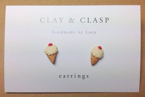 He encontrado este interesante anuncio de Etsy en https://www.etsy.com/es/listing/196532157/ice-cream-earrings-beautiful-handmade