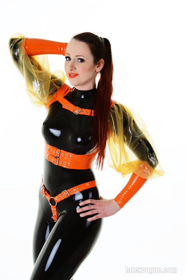 New latex gallery with our orange harness :) Model: Miss Fetilicious  More at: http://www.latexvogue.com/  _ _ _ _ _ _ _ _ _  #Designer, #Fetish, #Fetishfashion, #Kinky, #Latex, #Latexdesigner, #Latexfetish, #Latexshop, #Latexvogue, #Rubber, #Rubberrized, #Sexygirl, #Shiny, #Transparentlatex