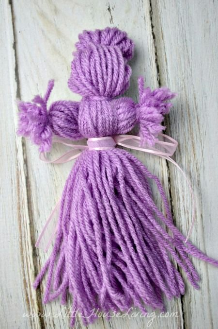 How to Make Yarn Dolls – Make Your Own Yarn Dolls – Homemade