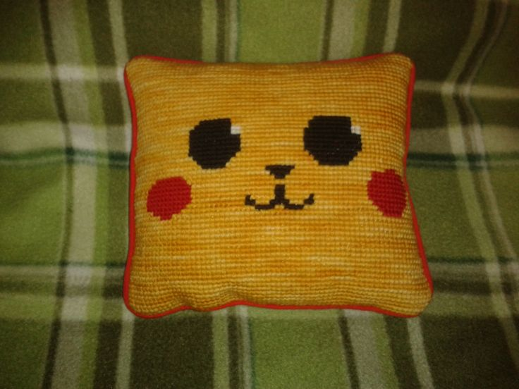 Tiny pokemon hand made pillow!