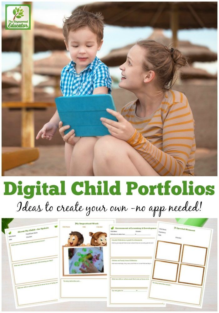 You don't need expensive apps and programs to make your own paperless child portfolios and learning journals.Keep it simple with these easy ideas and tips for early childhood educators and teachers - includes step by step video!