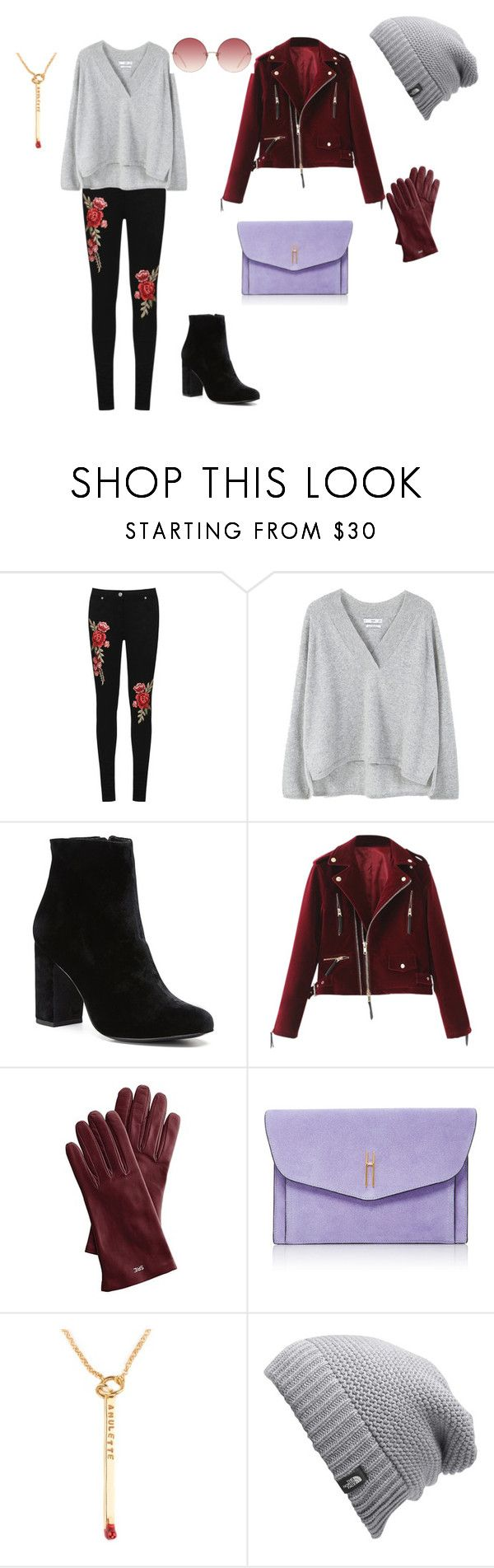"""Весна пришла-и мы идем красивые!!!  п"" by yana-ardysheva on Polyvore featuring мода, WearAll, MANGO, Witchery, Mark & Graham, Hayward, The North Face и Linda Farrow"
