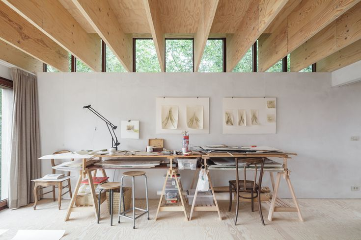 Raamwerk - wooden ceiling