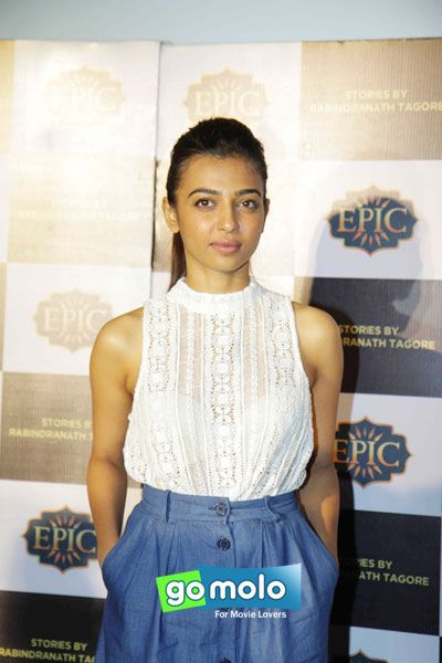 Radhika Apte at Epic channel event in Mumbai